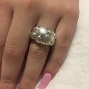 Authentic Coach Dome Ring